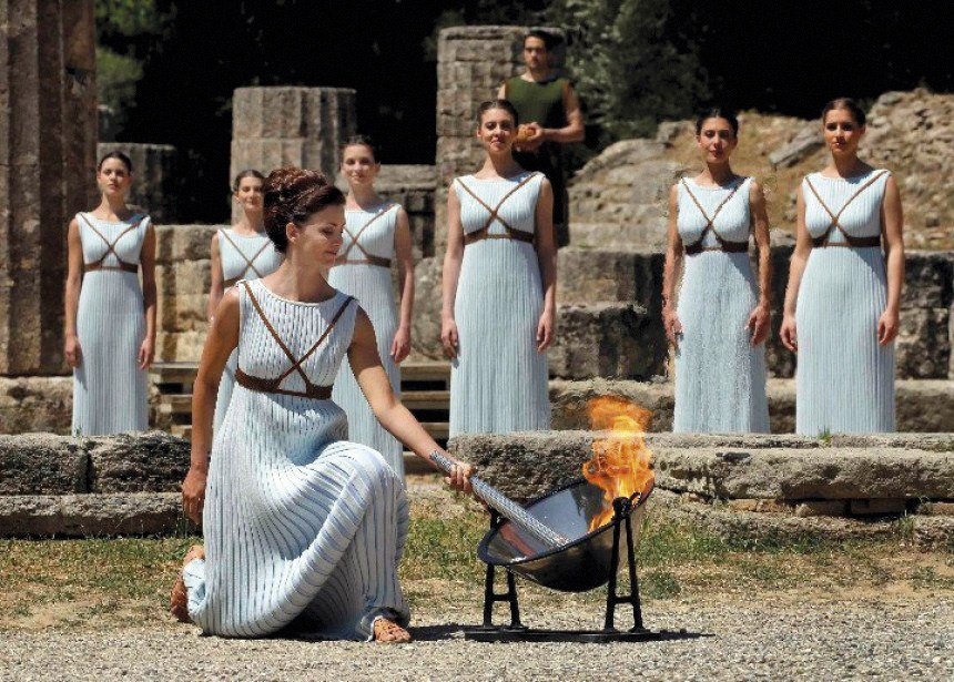 archaeological site of Ancient Olympia
