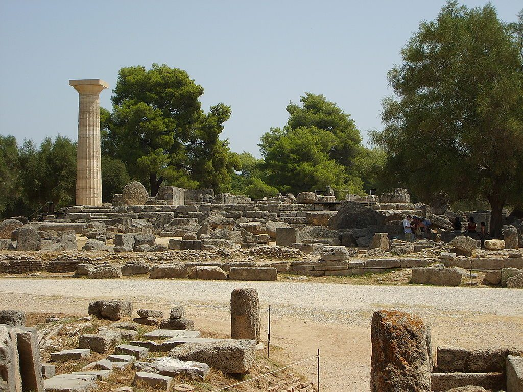 Temple of Zeus in Olympia